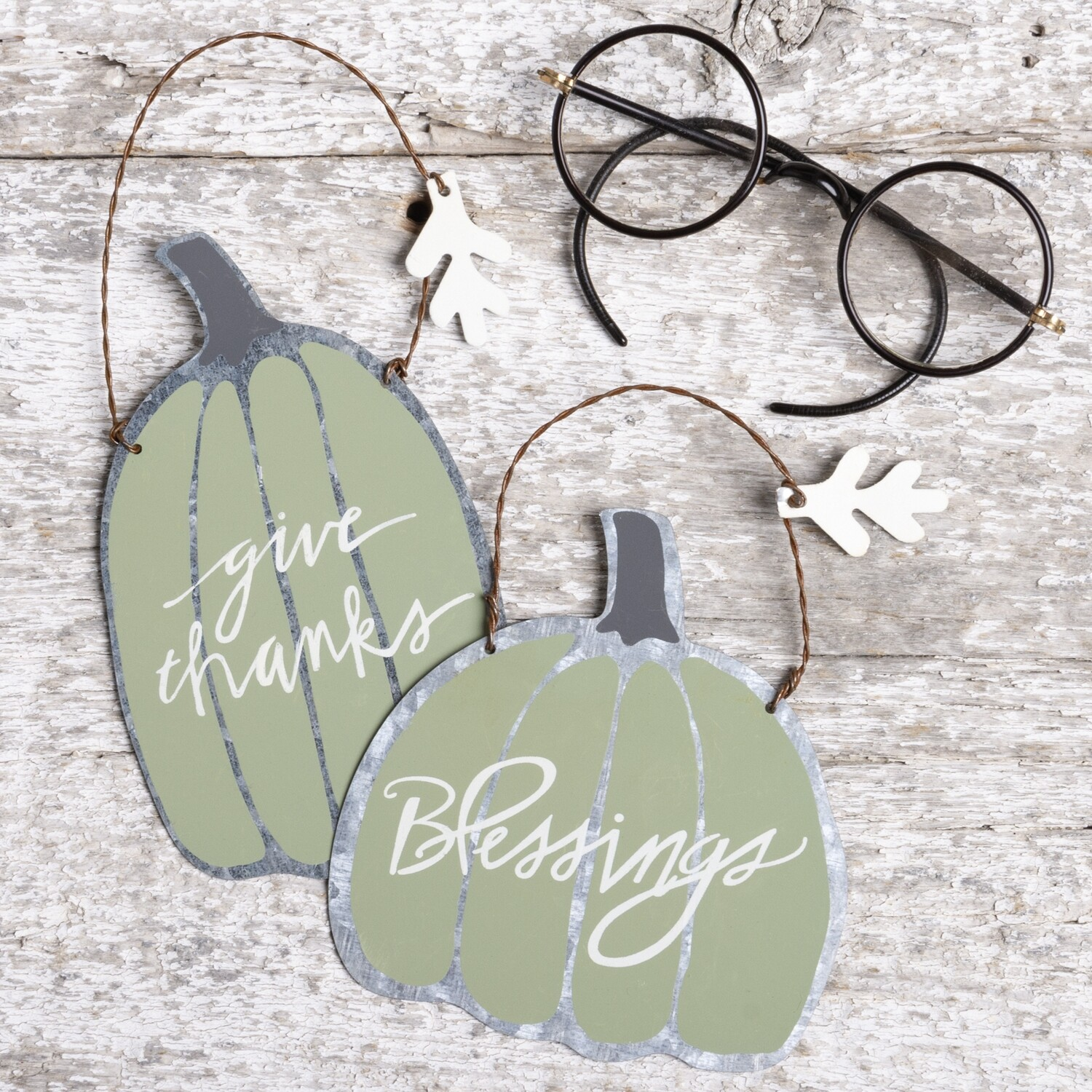 Fall Ornament Set (set of 2)