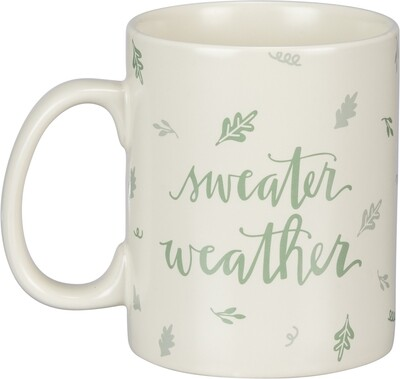 Coffee Mug; Sweater Weather