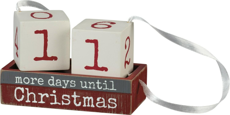 Christmas Block Countdown