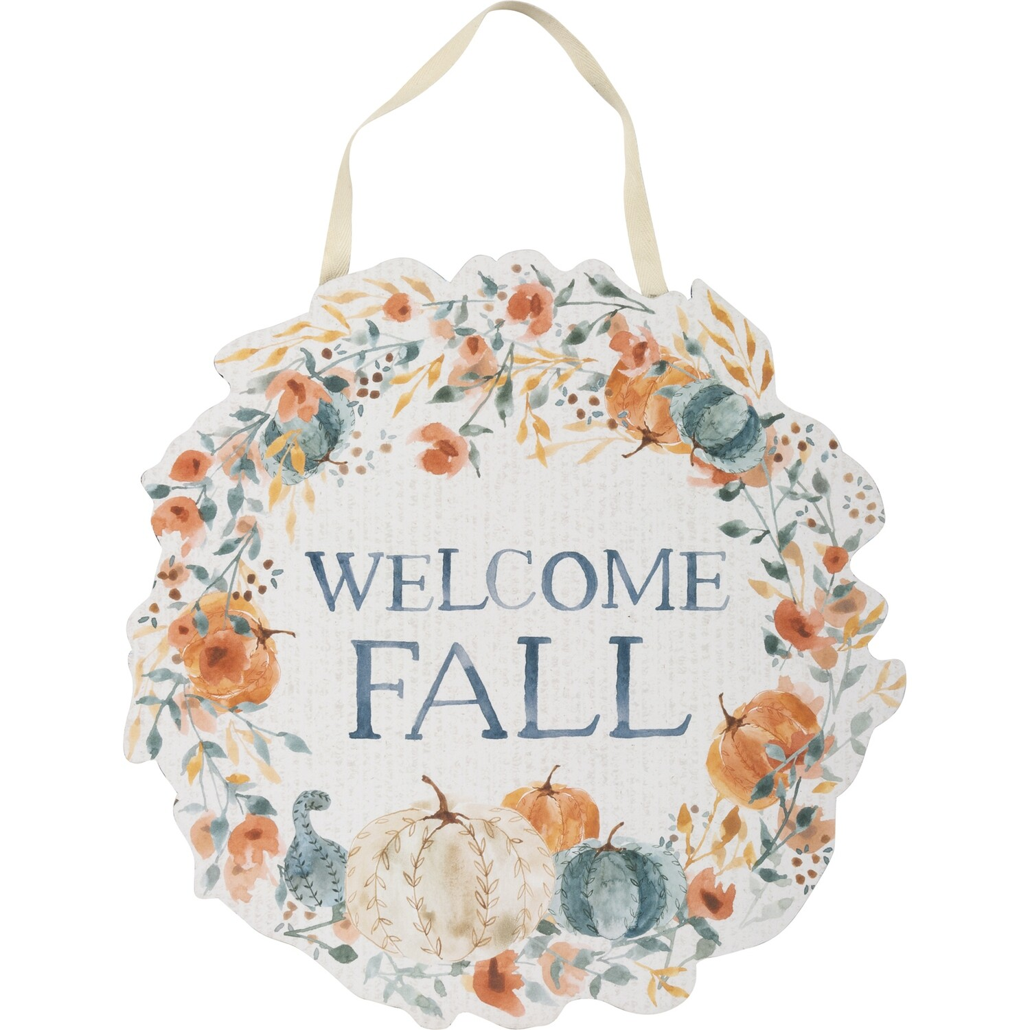 Welcome Fall Hanging Decor