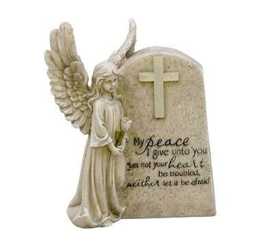 My peace I give you angel plaque