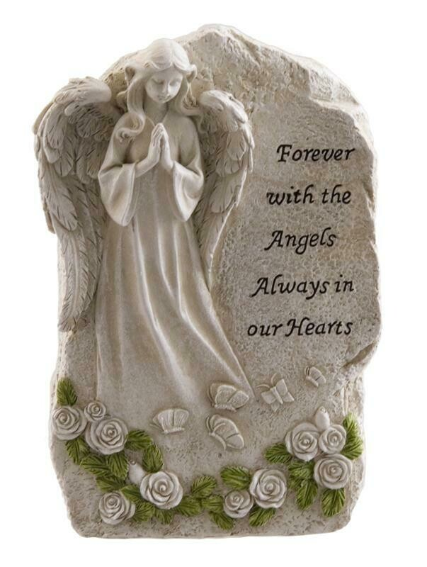 Forever With The Angels Plaque
