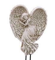 Polyresin Angel Planter Pic