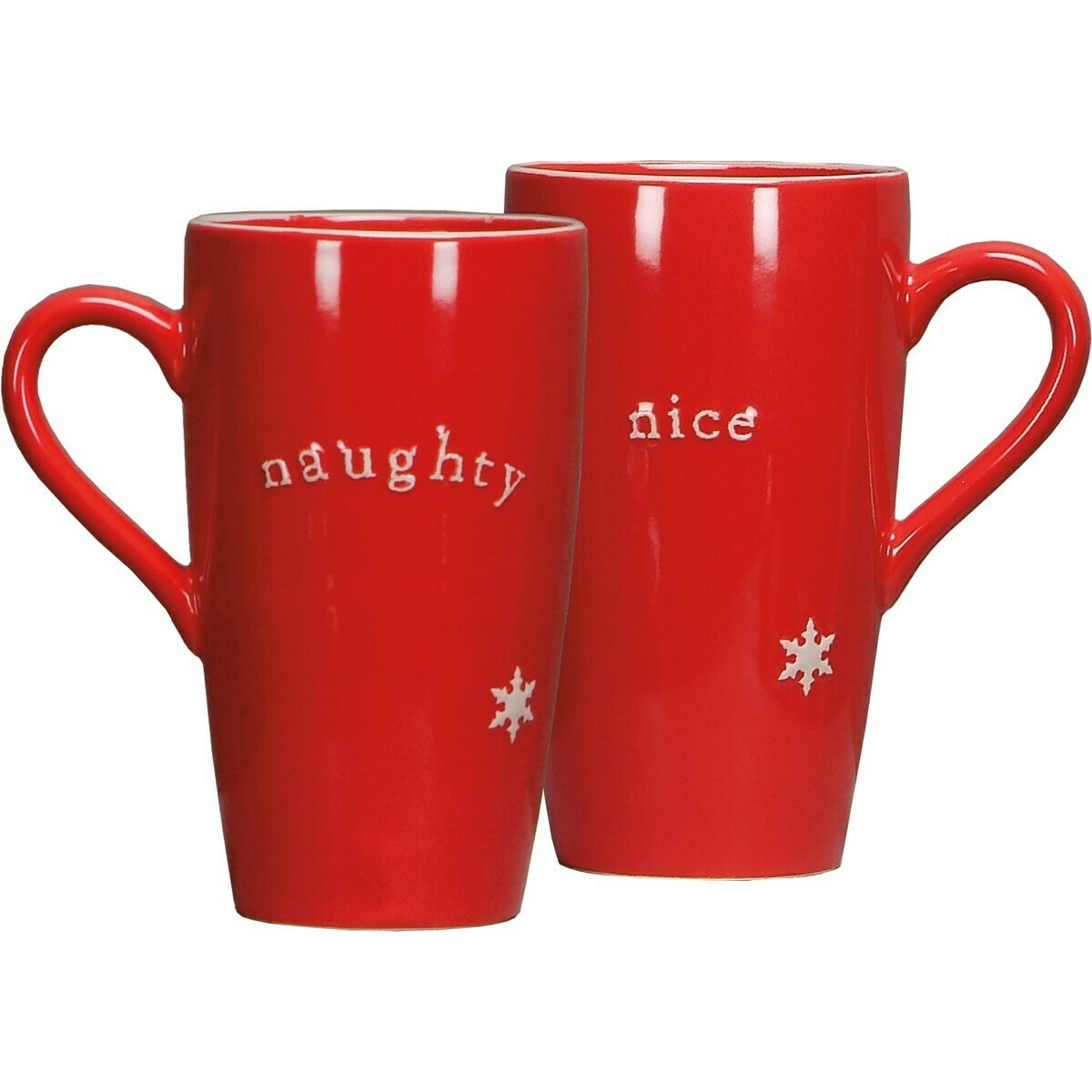 Christmas Coffee Mug; Naughty or Nice