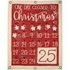 Wall Banner; Countdown to Christmas