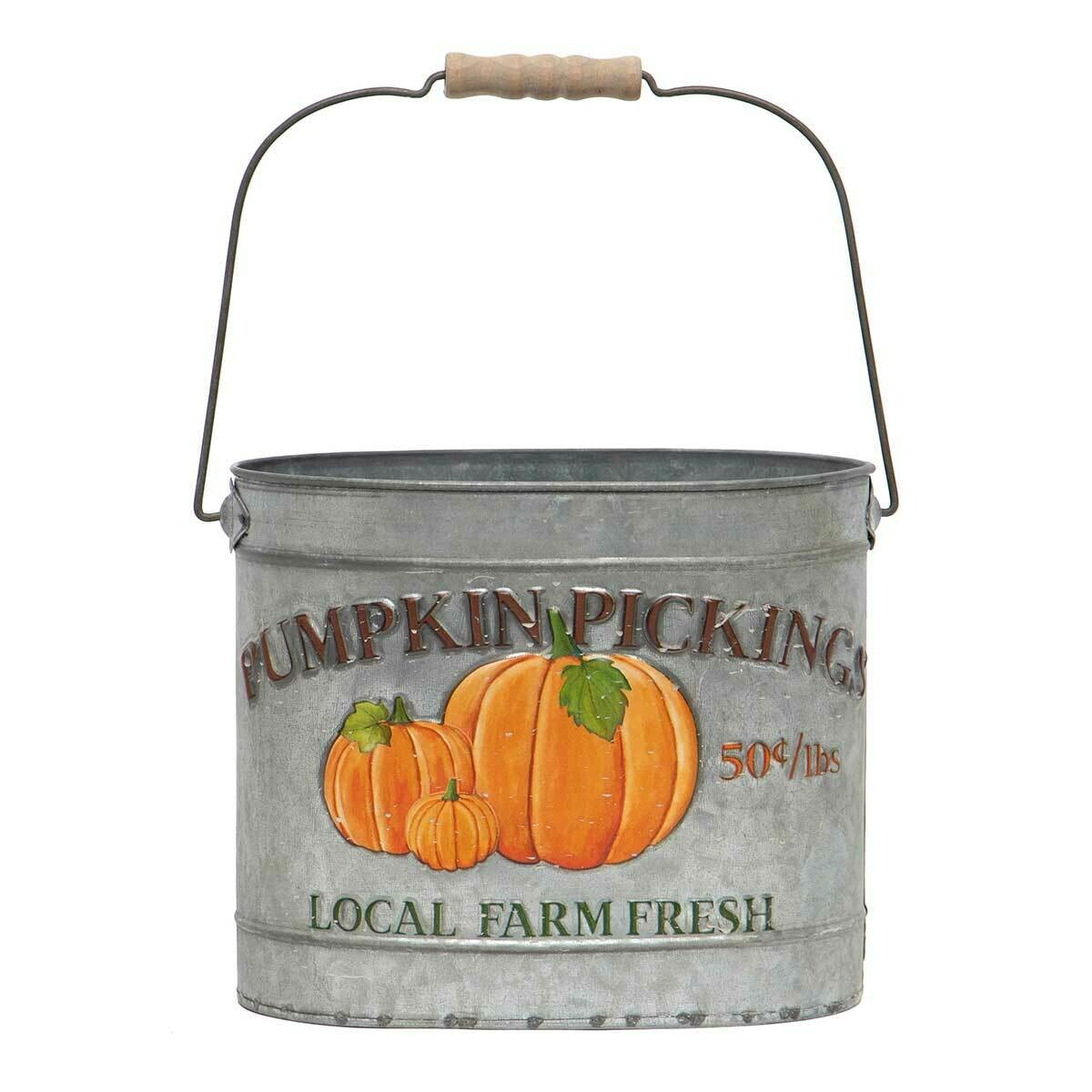 Pumpkin Picking Pail