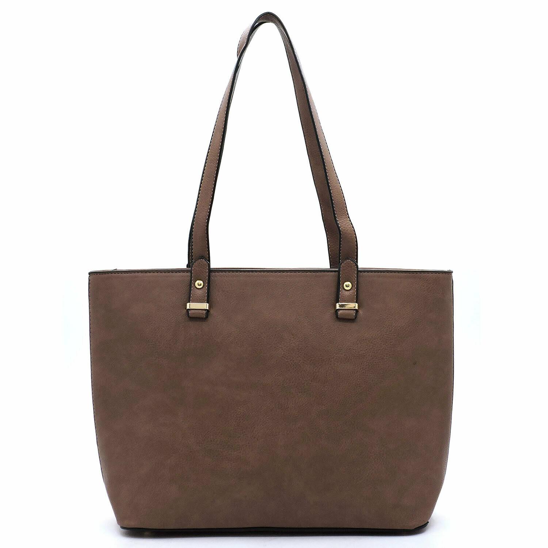 Shopper Tote; brown