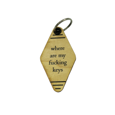 Keychain; Where are my F-ing keys
