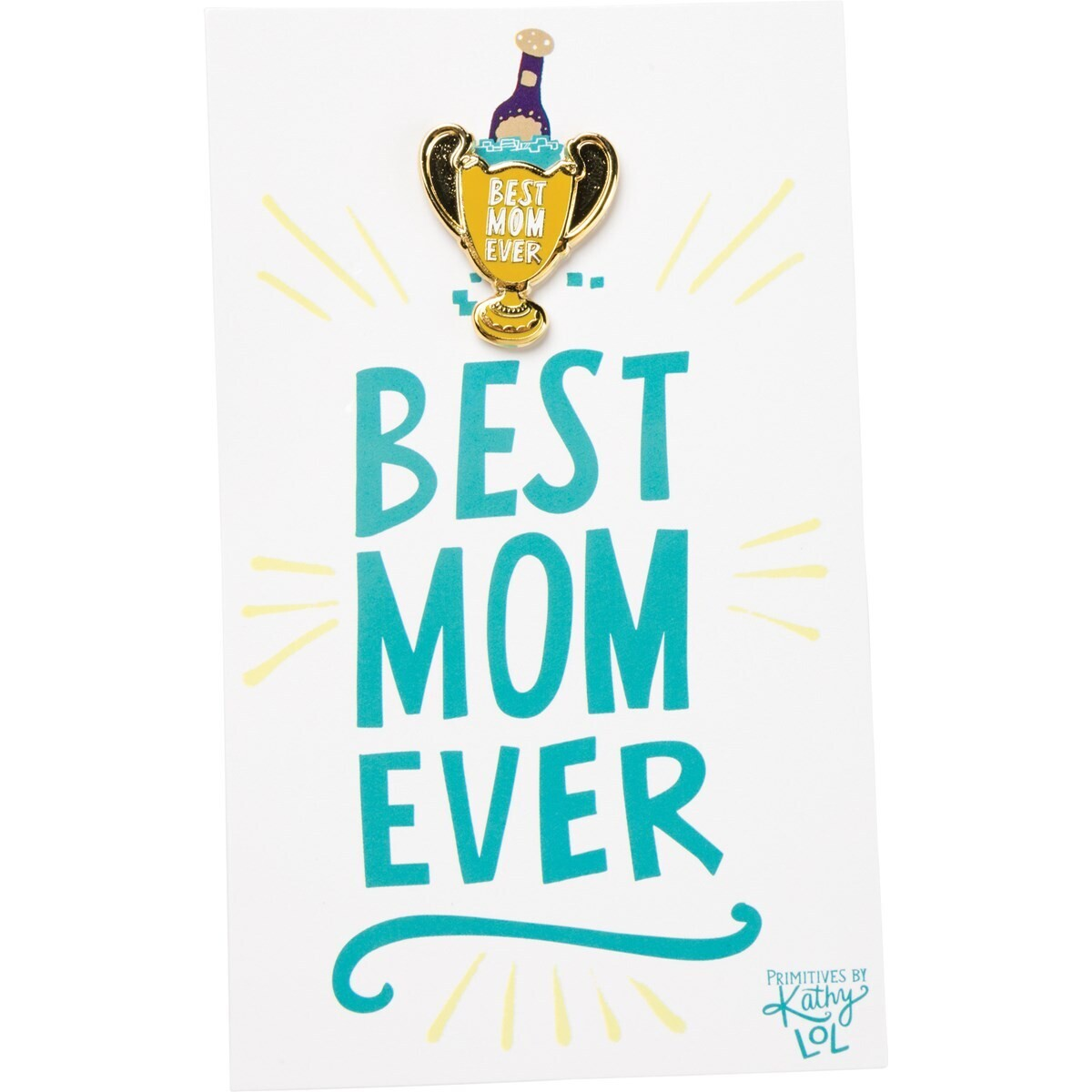 Enamel Pin; Best Mom