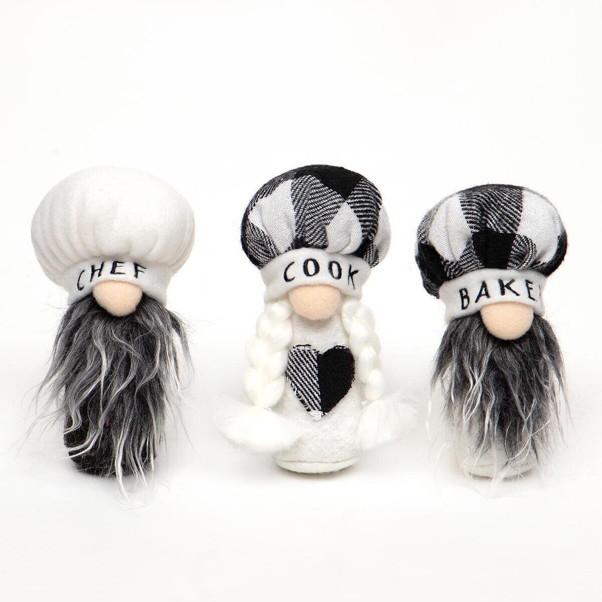 Mini Chef Gnomes; 3 different sayings