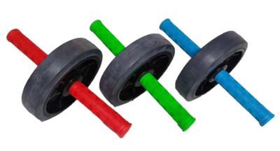 Rueda para trabajo de abdominales y dorsales de colores SIMPLE
