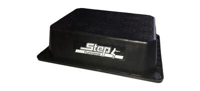 Step Clasico Plataforma Gimnasia Anti-deslizante Funcional Negro