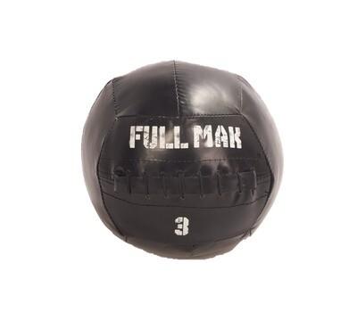 Medicine Ball Crossfit Tipo Dynamax De 3kg De Lona Ref