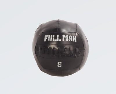 Medicine Ball Crossfit Tipo Dynamax De 6kg De Lona Ref