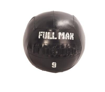 Medicine Ball Crossfit Tipo Dynamax De 9kg De Lona Ref