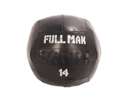 Medicine Ball Crossfit Tipo Dynamax De 14kg De Lona Ref