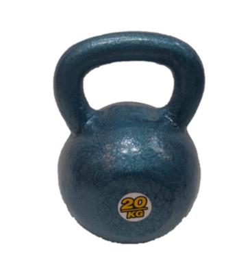 Kettlebell pesa rusa de fundición de 20 kg