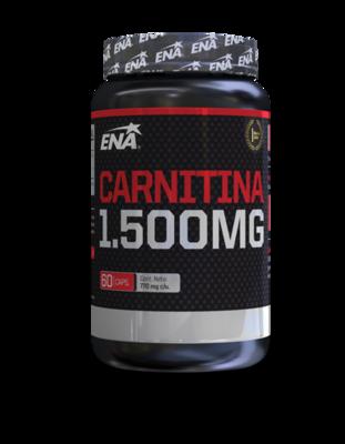 Carnitina 1500mg (60 cáps) Ena Sport- Quemador grasa