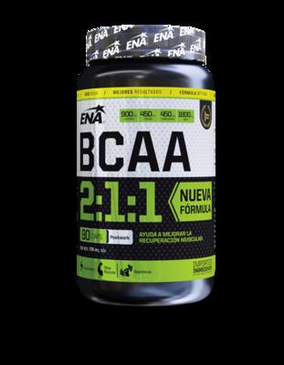 Bcaa 2:1:1 (90 cáps) - Ena sport aminoácidos