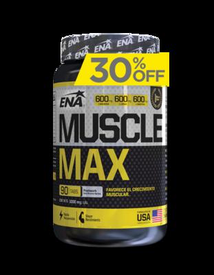 Muscle Max (90 Tabs) - Ena Sport - Arginina Ornitina
