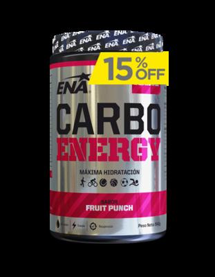 Carbo energy 540gr Ena bebida deportiva isotónica en polvo