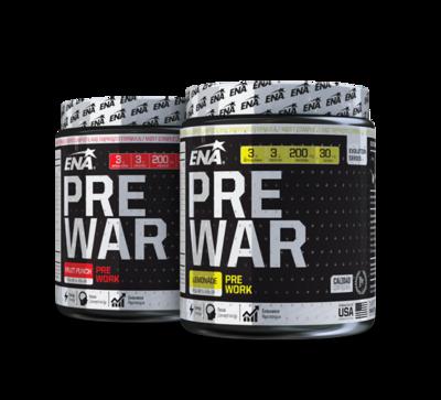 Pre War 400gr Ena Sport - Energizante Pre Entrenamiento