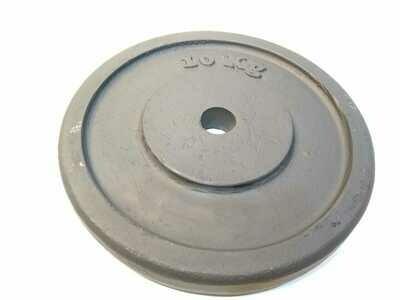 Disco de fundición de 10 kg pintura mate. diámetro 30 mm. por unidad