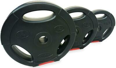 Disco plástico de pvc de body pump de 10 kg x unidad importado