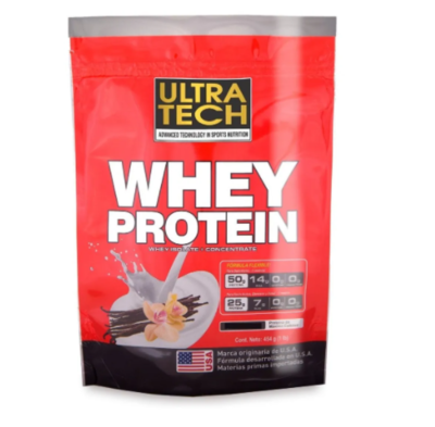 Whey protein Ultratech x 454gr