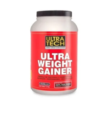 Ultra wheight gainer Ultratech x 1,5kg