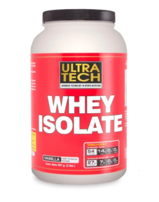 Whey Protein isolate Ultratech x 1kg