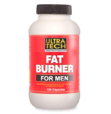 Quemador de grasa para hombre, Fat Burner UltraTech 120 Cáps