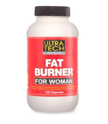 Quemador de grasa para mujer, Fat Burner UltraTech 120 Cáps