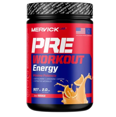 Pre Work Out 900gr Mervick