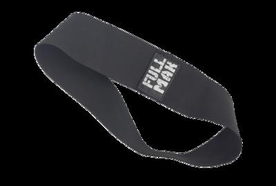 Banda circular mini band tensión HARD negra de tela