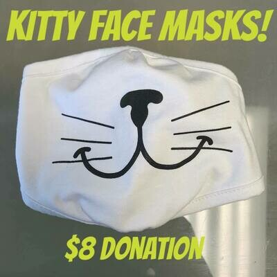 Kitty Face Mask