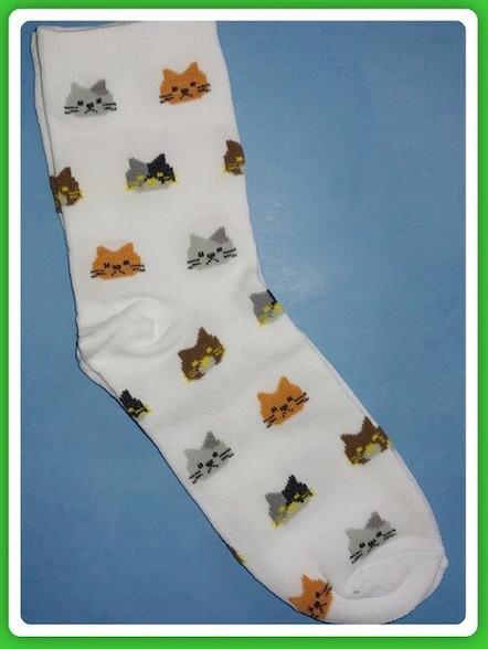 White Cat Socks