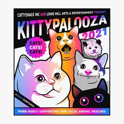 Rocket City Kittypalooza T-Shirt