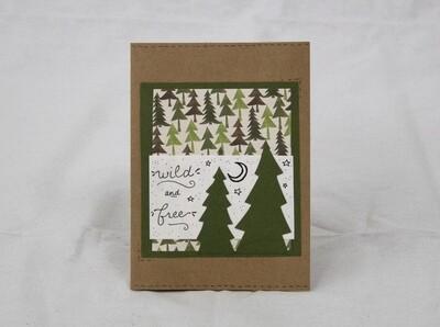 Wild and Free Handmade Card