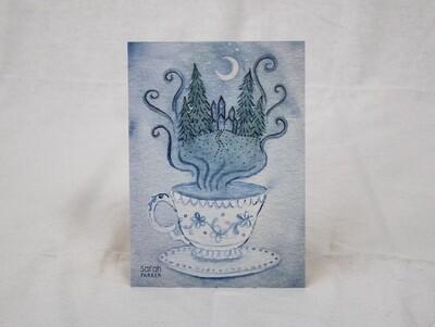 Magical Teacup Limited Edition Print