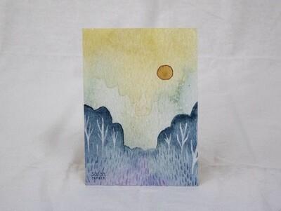 Orange Moon Limited Edition Print
