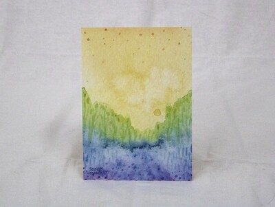 Rainbow Landscape Limited Edition Print