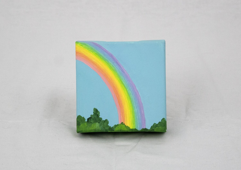 Rainbow Canvas Art