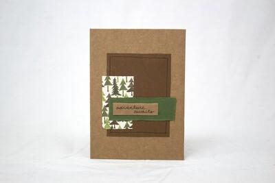 Adventure Awaits Handmade Card