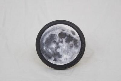 Moon Wood Panel Art