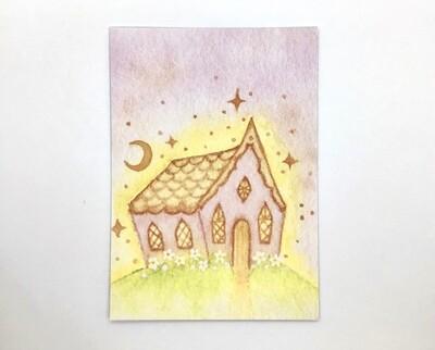 Fairytale Cottage Limited Edition Print