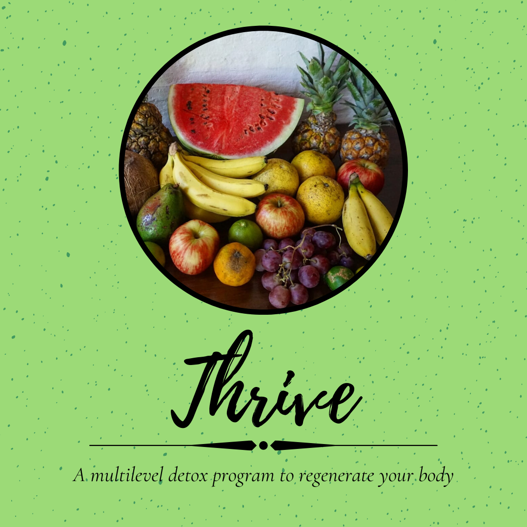 Thrive - The 3 Step Detox Program