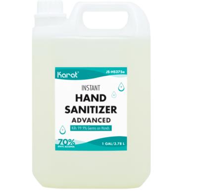 Karat 1 gallon Hand Sanitizer Gel - 4 bottles/case