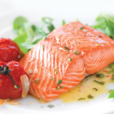 Wild Alaskan Sockeye Salmon  6 oz portions, skinless/boneless