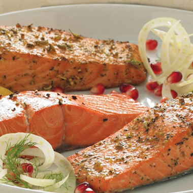 Wild Alaskan Sockeye Salmon 6 oz portions, skin-on/boneless